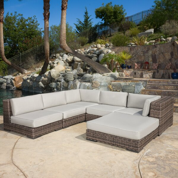 Toohey 6 Piece Sectional Set with Cushions by Brayden Studio