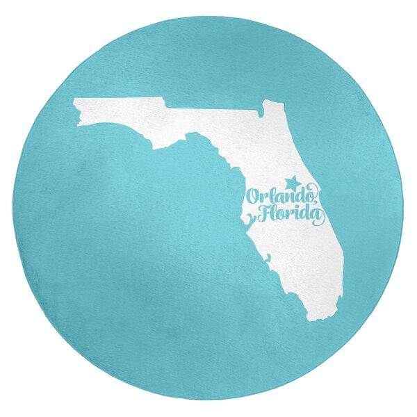 Orlando Florida Poly Chenille Rug