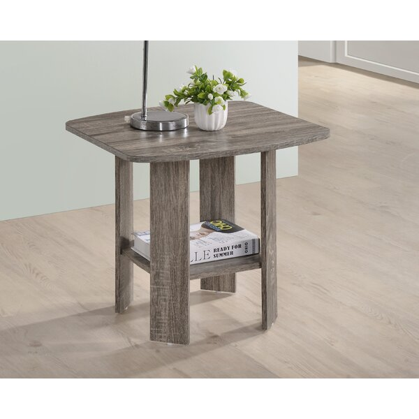 Hillen End Table by Highland Dunes
