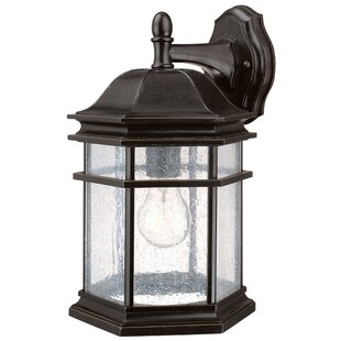 Compare & Buy Derosier Traditional 1-Light Outdoor Wall Lantern By Three Posts