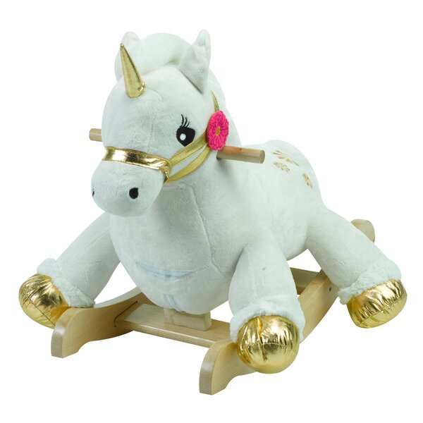 Critters Angel the Unicorn Rocking Horse by Rockabye