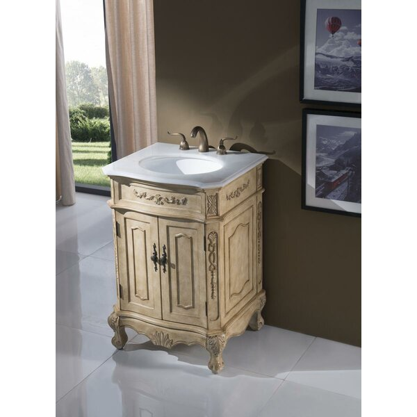 Ambudkar 24 Single Bathroom Vanity Set by Astoria