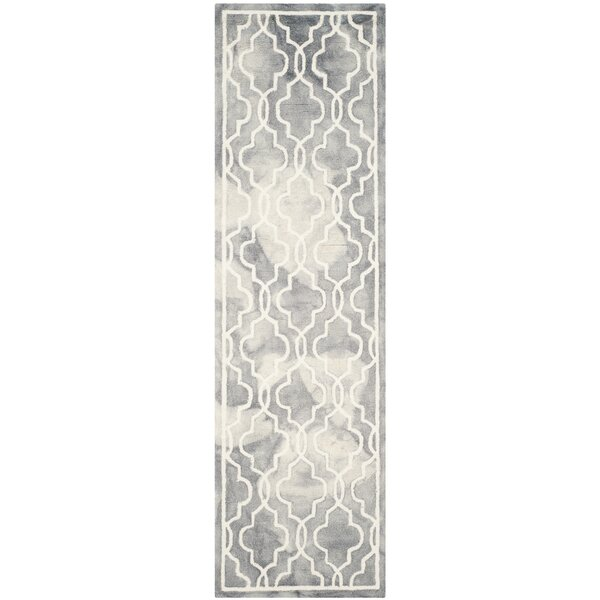 Emestina Hand-Tufted Gray/Ivory Area Rug by Willa Arlo Interiors