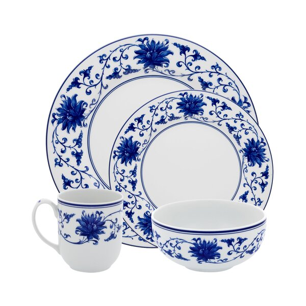 Lazuli 4 Piece Place Setting, Service for 1 by Vista Alegre