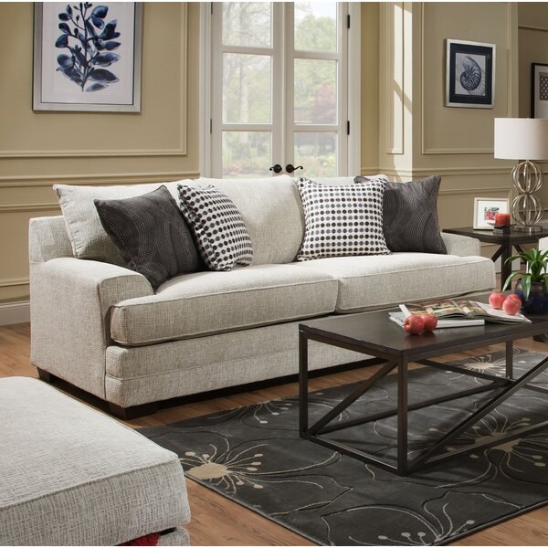 Trendy Modern Henthorn Queen Sofa Bed by Alcott Hill by Alcott Hill