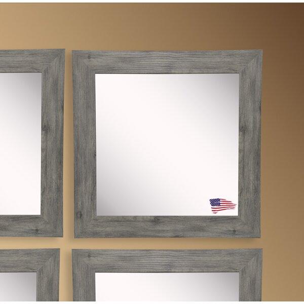 Barnwood Wall Mirror (Set of 4) by Rayne Mirrors