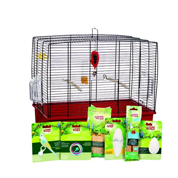 Living World Deluxe Budgie Starter Kit by Hagen