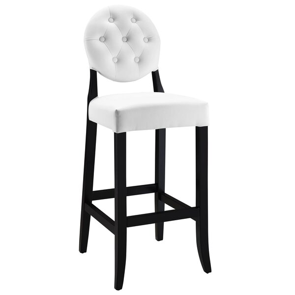 Courtnay Traditional 29 Square Seat Bar Stool by Willa Arlo Interiors