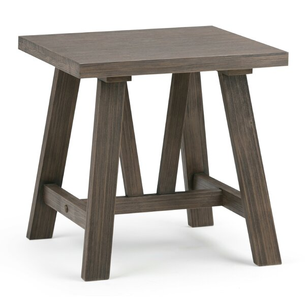 Brotherhood End Table by Gracie Oaks