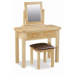 Schminktisch-Set mit Spiegel von Hazelwood Home