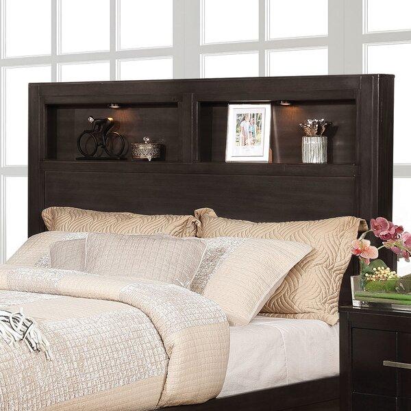 Pruitt Queen Bookcase Headboard by Gracie Oaks