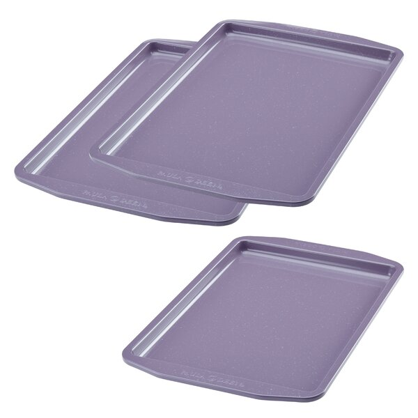 3 Piece Non-Stick Speckle Baking Sheet Set by Paula Deen