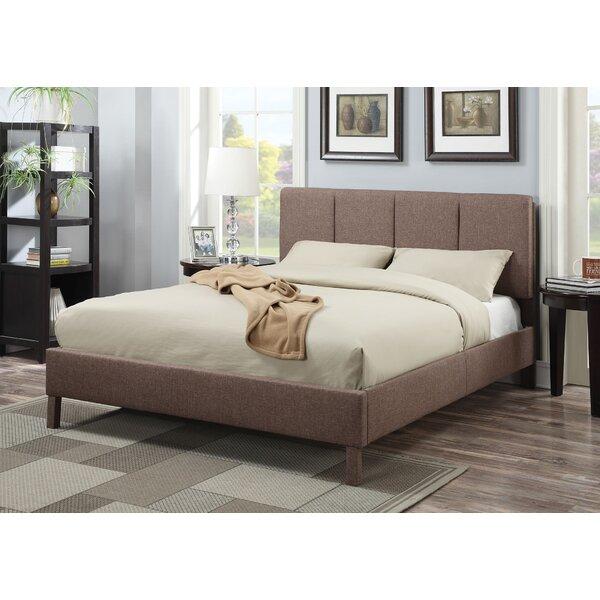 Guillemette Upholstered Standard Bed by Ebern Designs