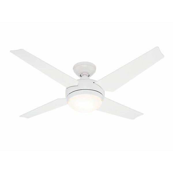 52 Sonic® 4-Blade LED Ceiling Fan by Hunter Fan