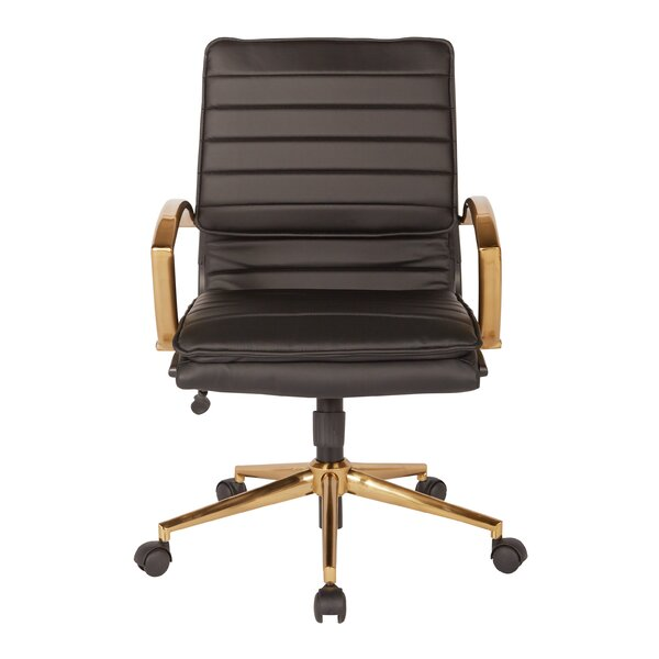 Opheim Hadlock Mid-Back Office Chair by Greyleigh
