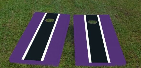 Ravens Cornhole Game (Set of 2) by Custom Cornhole Boards