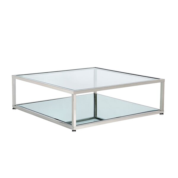 Mikayel Floor Shelf Coffee Table By Orren Ellis