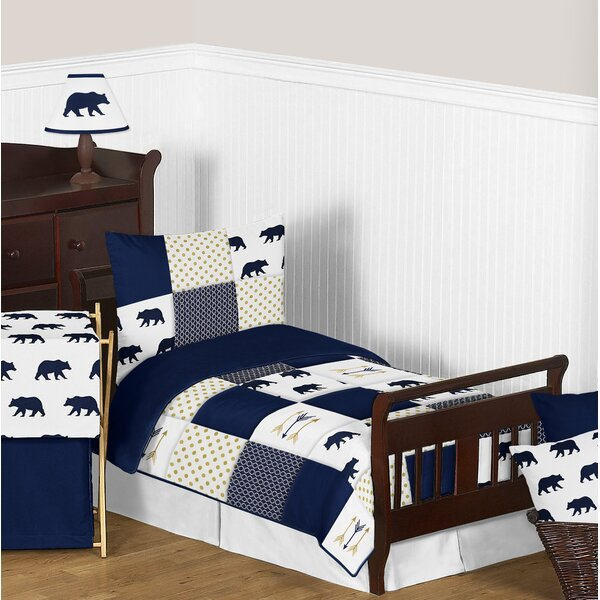 Big Bear 5 Piece Toddler Bedding Set by Sweet Jojo Designs