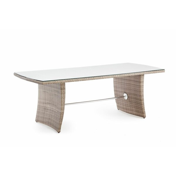 Kenwood  Glass  Dining Table by Brayden Studio