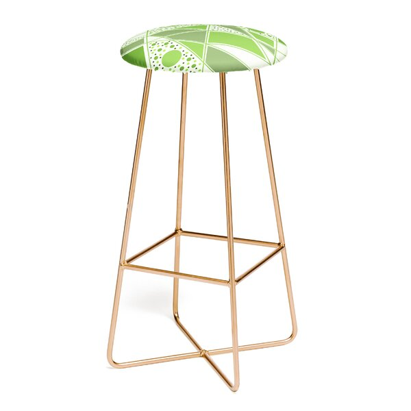 Viviana Gonzalez Greenery Sensation 30 Bar Stool by East Urban Home
