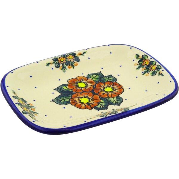 Polish Pottery 11 Rectangular Platter by Polmedia