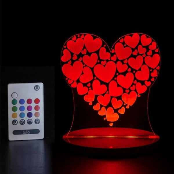 Heart Night Light by Tulio Dream Lights