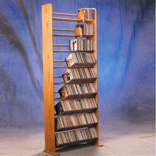 504 CD Multimedia Storage Rack By Rebrilliant