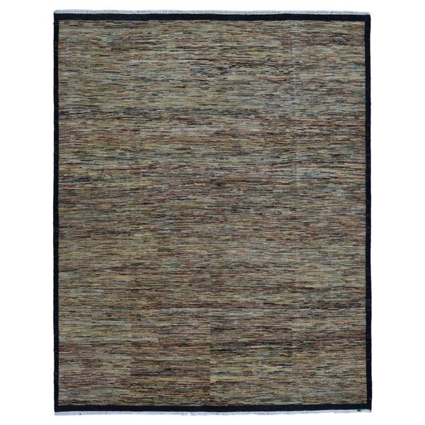 One-of-a-Kind Cragin Oriental Hand Woven Multicolored Area Rug by Isabelline