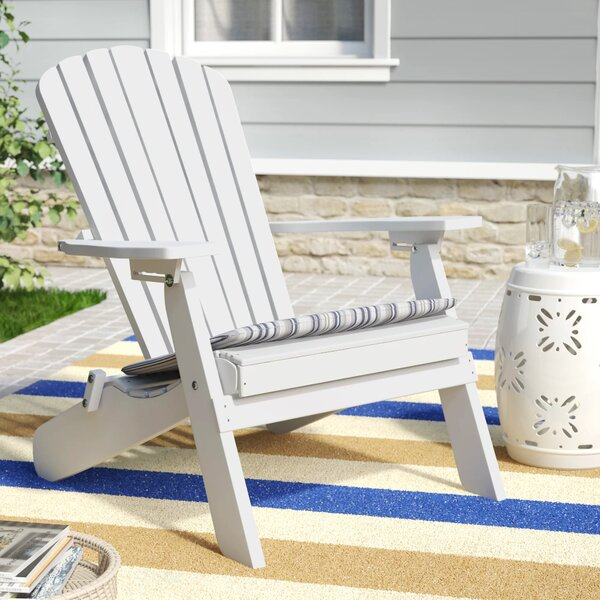 Sperry Plastic Folding Adirondack Chair by Red Barrel Studio Red Barrel Studio