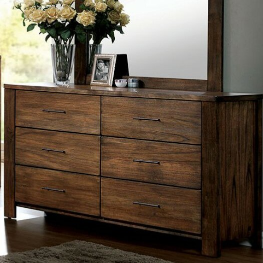 Armetta 6 Drawer Double Dresser by Foundry Select