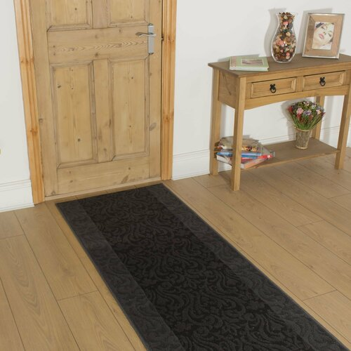 Barhill Tufted Grey Indoor/Outdoor Rug ClassicLiving Rug Size: Runner 70cm x 540cm