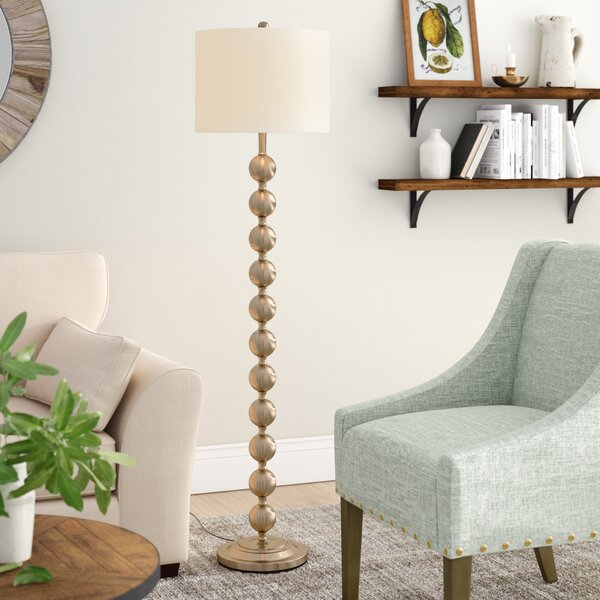 Bridgers 59 Floor Lamp by Mercury Row
