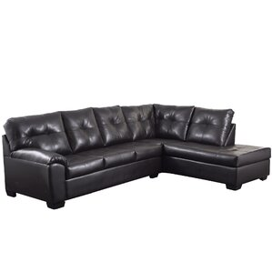 Camden Sectional  sc 1 st  AllModern : faux leather sectionals - Sectionals, Sofas & Couches