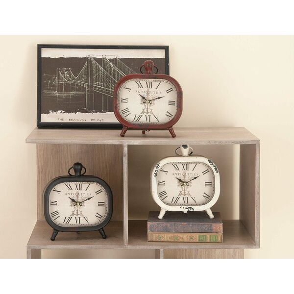 Table Clock Set (Set of 3) by Cole & Grey| @ $95.92