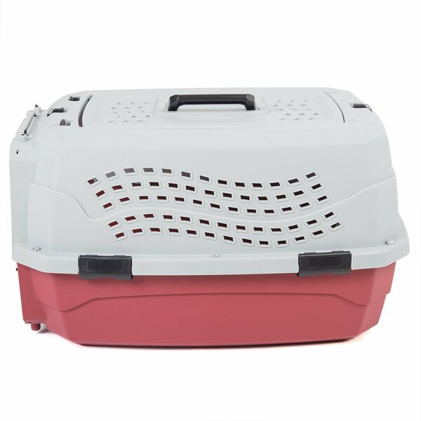 2 Door Top Load Car Travel Vet Visit Pet Carrier by Favorite