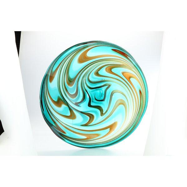 Plate by Diamond Star Glass