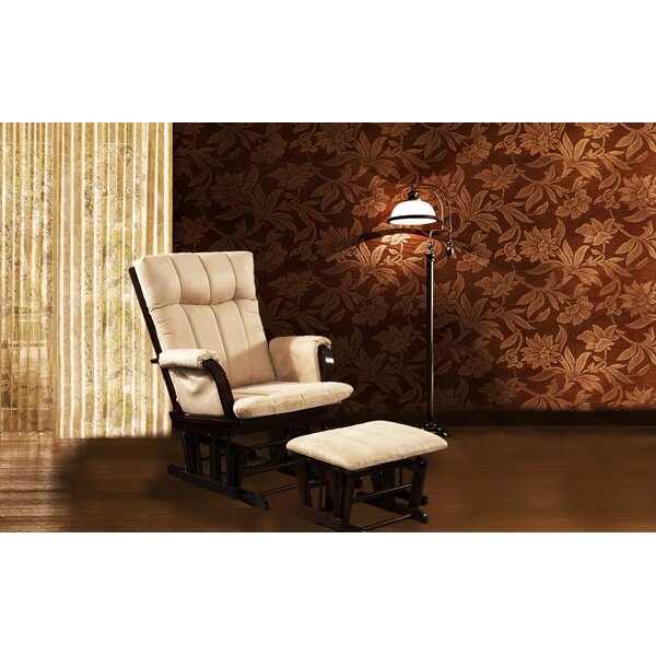 Home Deluxe Glider Chair And Ottoman by Artiva USA