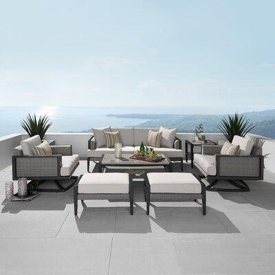 Brayden Studio Sunbrella Sofa Seating Group Cushions Seating Groups