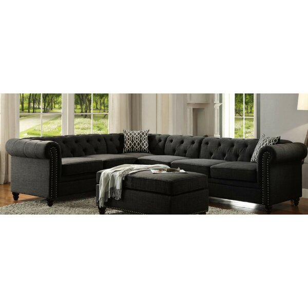 Joycelyn Reversible Sectional by Darby Home Co
