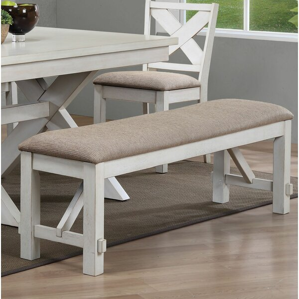 David Upholstered Bench by One Allium Way