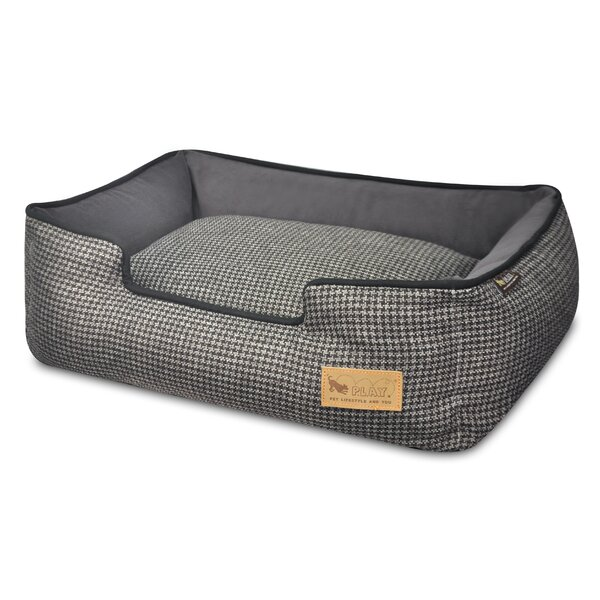 Houndstooth Lounge Dog Bed by P.L.A.Y.