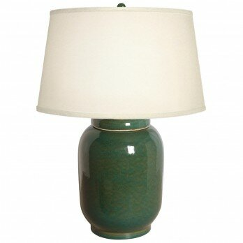 Badger Tall Lantern Ginger 29 Table Lamp by Canora