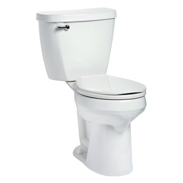Summit SmartHeight 1.6 GPF Round Two-Piece Toilet by Mansfield Plumbing Products