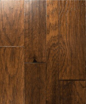 Catalan Random Width Engineered Hickory Hardwood Flooring in Barcelona by Albero Valley