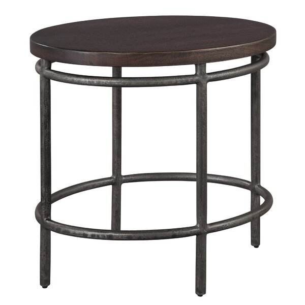 Schumacher End Table By 17 Stories