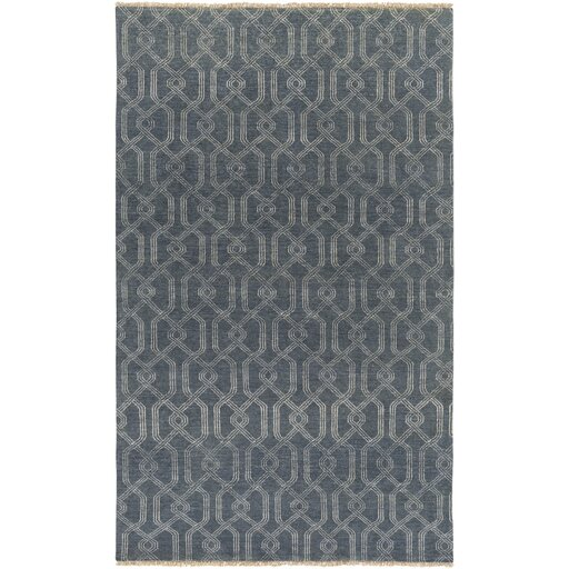 Sutton Hand Knotted Prussian Area Rug by DwellStudio