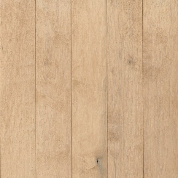 Prime Harvest 5 Solid Hickory Hardwood Flooring in Mystic Taupe by Armstrong Flooring