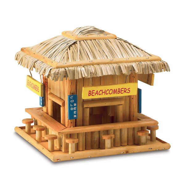 Beachcomber 8 in x 8.5 in x 8.5 in Birdhouse by Zingz & Thingz