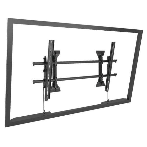 Extra Large Fusion Micro-Adjustable Tilt Wall Mount for Greater than 50 Flat Panel Screens by Chief Manufacturing