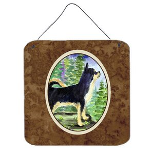 Chihuahua Painting Print Plaque by Caroline's Treasures